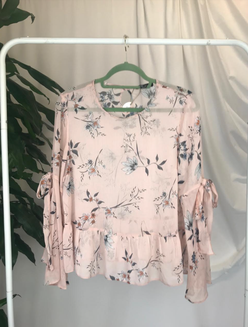 Atmosphere Sheer Blouse | Size 14
