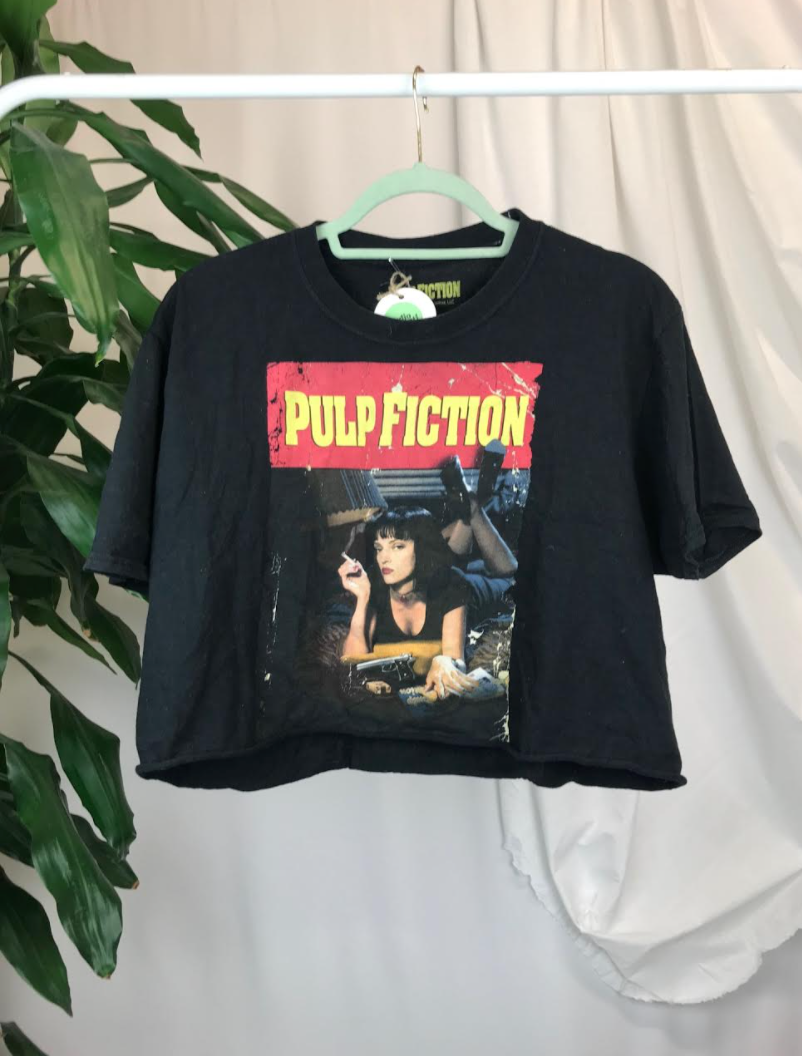 Pulp Fiction Crop Top | Size 10