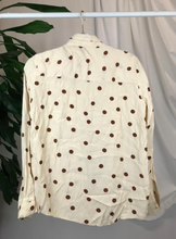 Load image into Gallery viewer, Mango Polka Dot Blouse | Size 12