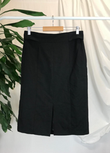 Load image into Gallery viewer, Mango Black Skirt | Size 8