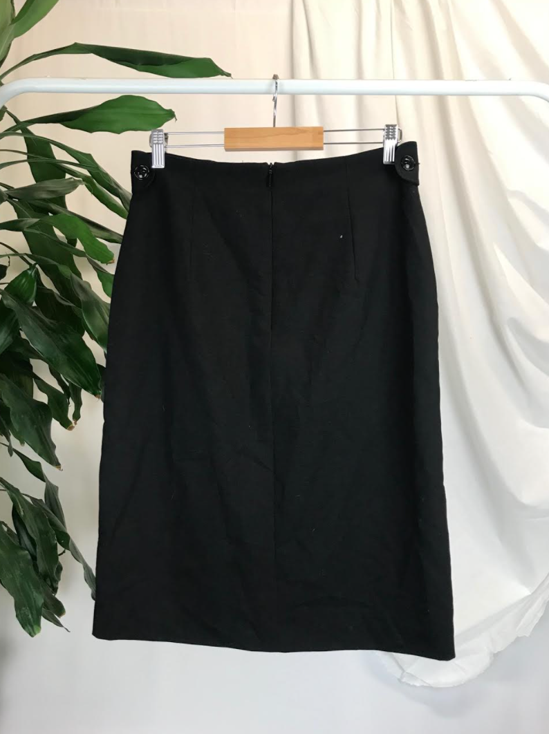 Mango Black Skirt | Size 8