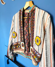 Load image into Gallery viewer, Rajasthani Patchwork Bomber Jacket