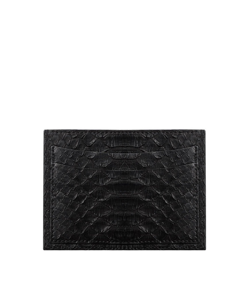 Natural Pinta Python Card Holder