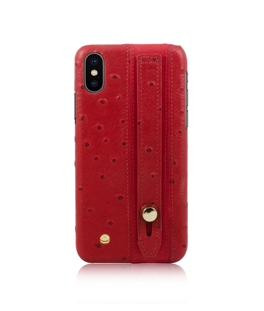 Ostrich Strap Case iPhone X