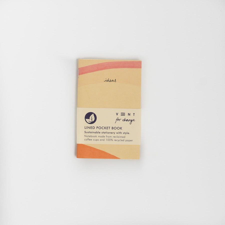 Recycled Paper Ideas Notebook - Cream