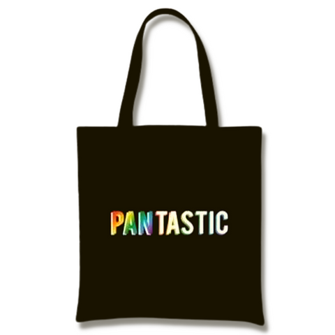 Black Canvas Tote - Pantastic