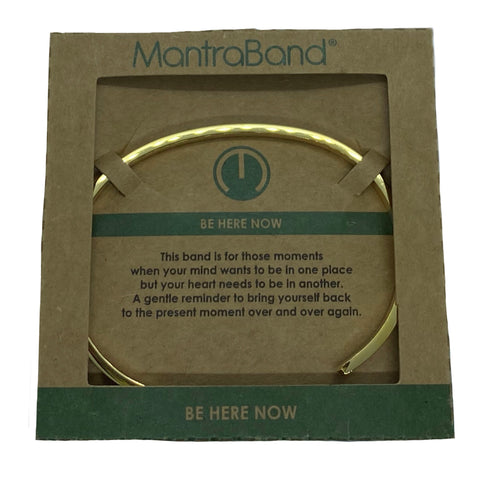 Mantraband - Be Here Now , Gold