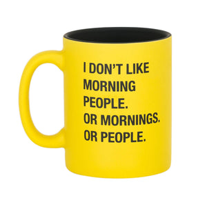 Sassy Mug - Morning People