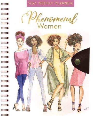 Phenomenal Women 2021 Weekly Planner