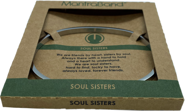 Mantraband - Soul Sisters, Silver