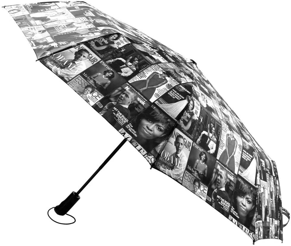 Umbrella - Michelle Obama Magazine Cover, Black & White