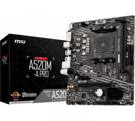 Mother MSI A520M-A PRO AM4