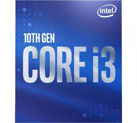 Procesador Intel Core i3 10100F 4.3GHz Turbo 1200 Comet Lake