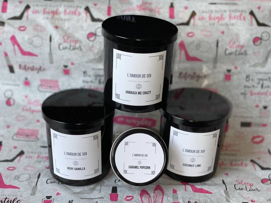 Scented Soy Candle - L'Amour Chic Subscription Box