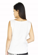 Load image into Gallery viewer, White High-Low Blouse