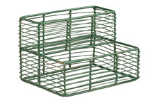 Decorative Wire Rack, 6 Jar (empty)