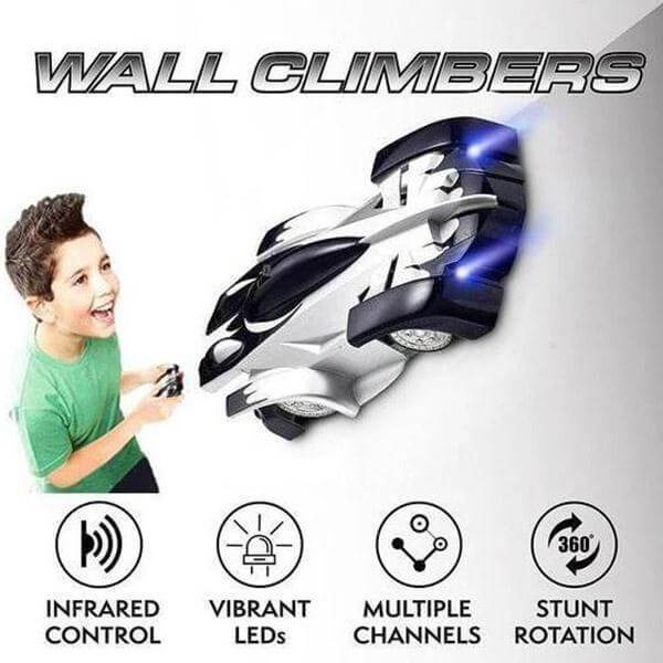 Remote Control Wall Climbing Car - Xmas Shop