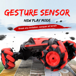 Gesture Sensing All Terrain Reversible Stunt RC Car - Xmas Shop