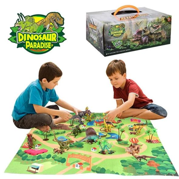 Dinosaur Paradise Play Set Box - Xmas Shop