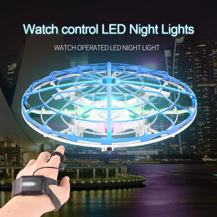 Remote Control Gesture Sensing Quad-copter Induction Drone UFO ( with Watch Controller - Xmas Shop