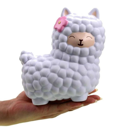 Jumbo Kawaii Alpaca Squishy - Xmas Shop