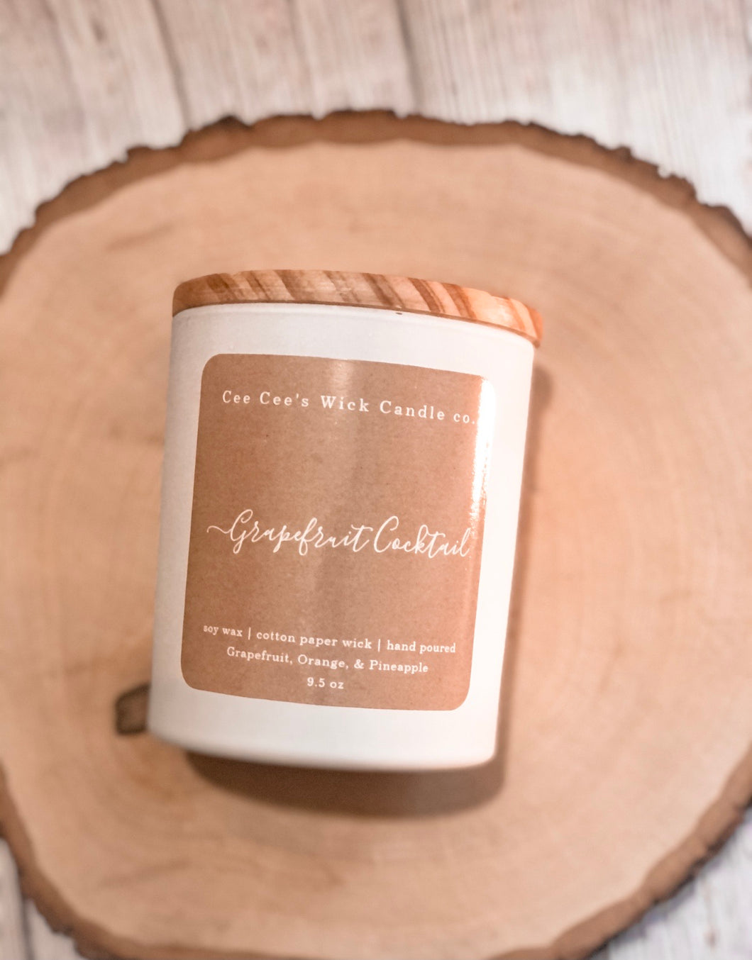 Grapefruit Cocktail Candle