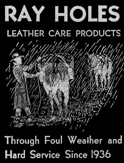 Ray Holes Leather Care Protects Leather