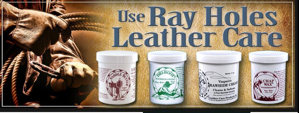 Ray Holes Leather Care Products Since 1936