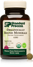 Organically Bound Minerals, 180 Tablets