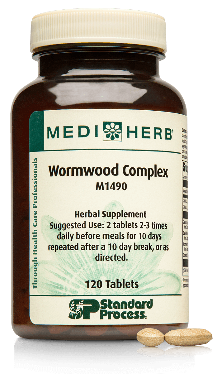 Wormwood Complex, 120 Tablets