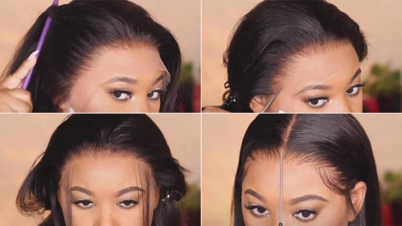 Clean Hairline Wigs
