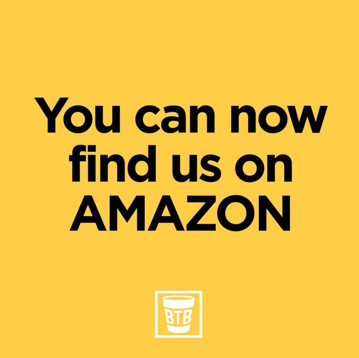 You Can Now Find Us On Amazon
