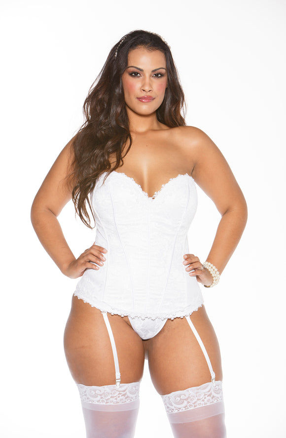 Shirley of Hollywood X26918 Corset White