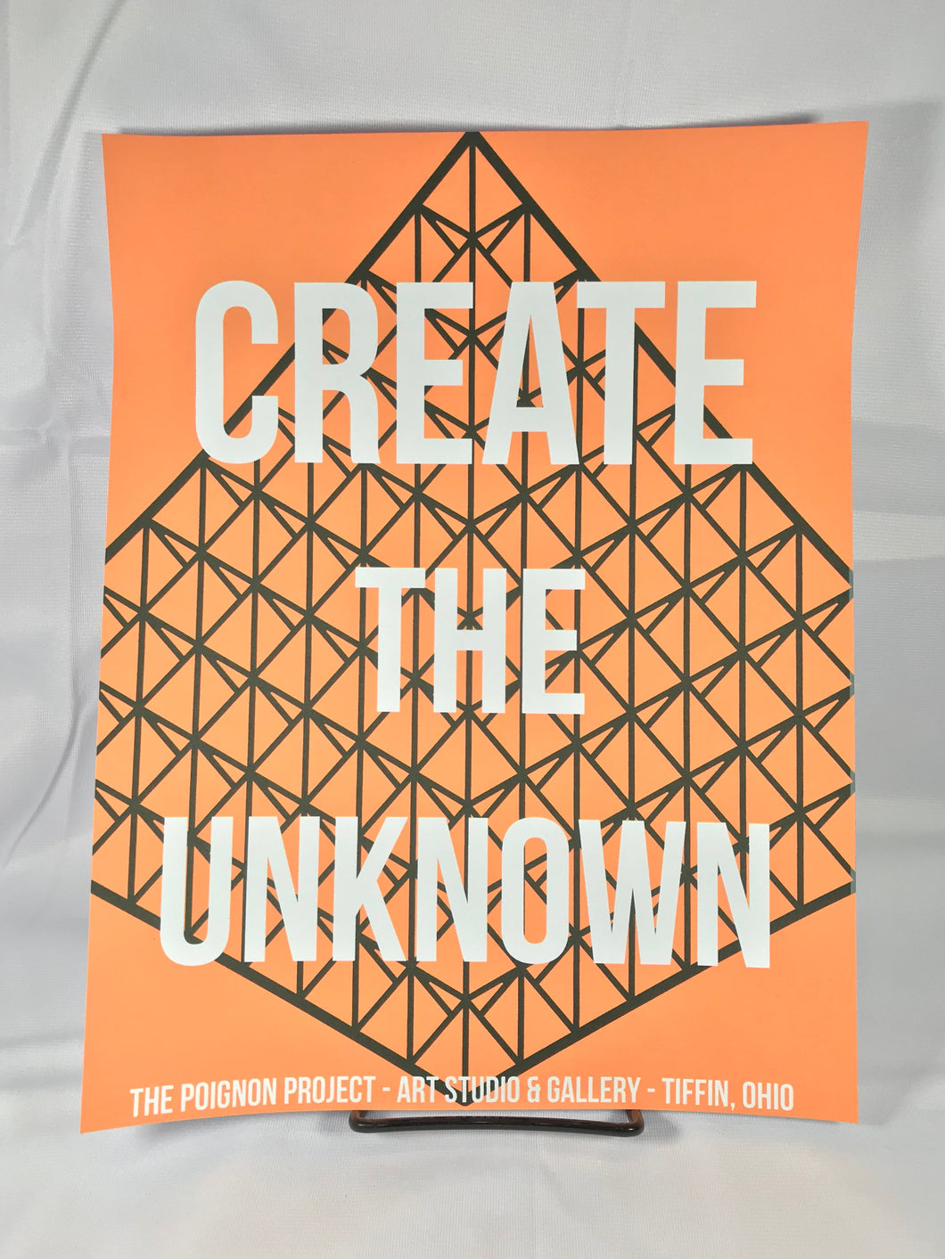 Create The Unknown Art Print