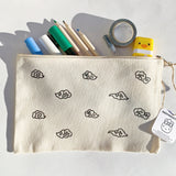 Himalayan Clouds Zippered Canvas Pouch