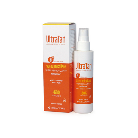 Ultra Tan spray micellare multifunzione
