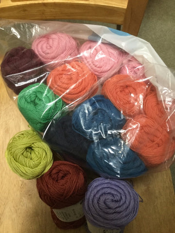 Cotton Fine Yarn Bundle