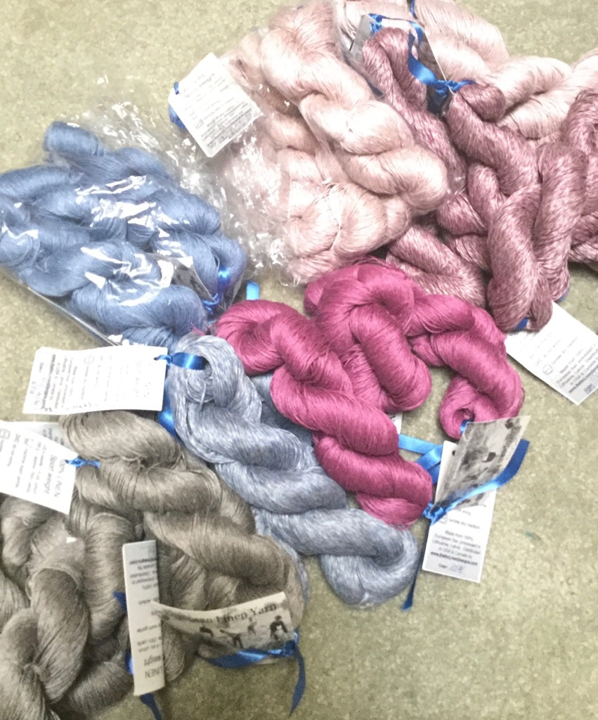 Linen Yarn Bundle