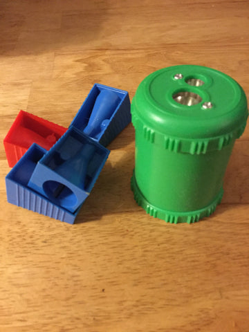 Pencil sharpeners for jumbo pencils