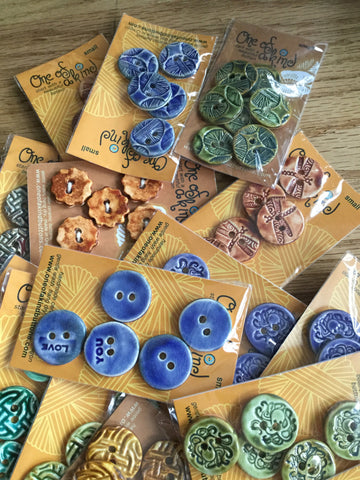 Buttons/ collection of five