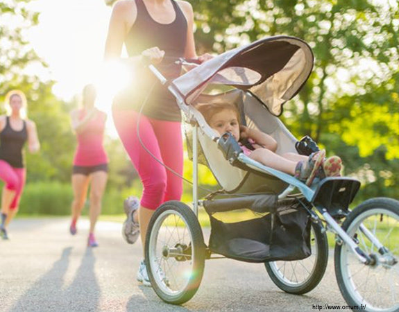 Running with Baby
