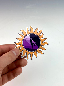 Sunshine Climber Sticker