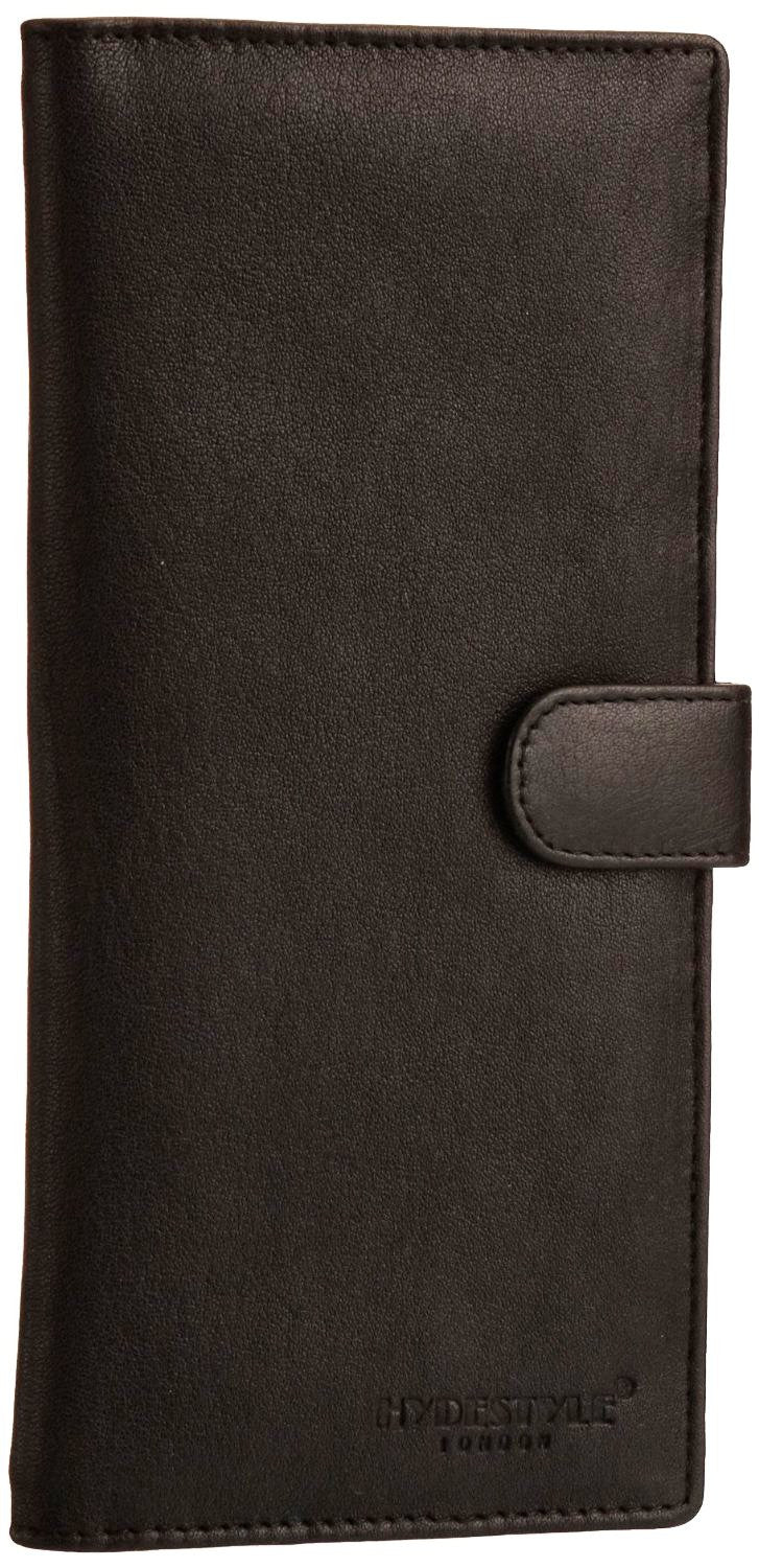 Pratico - women leather 12 card tab  wallet #LW04 Black
