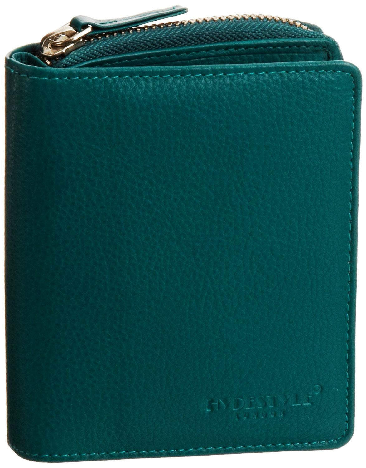 Pratico - women leather trifold wallet #LW01 Green