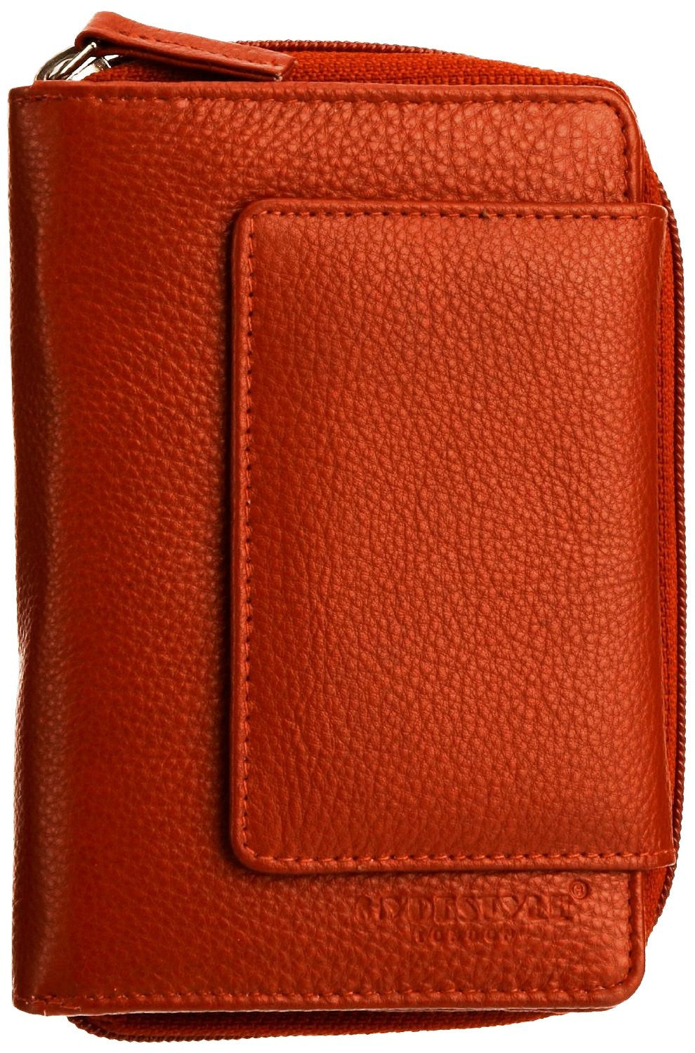 Pratico - women leather flap wallet #LW02 Red