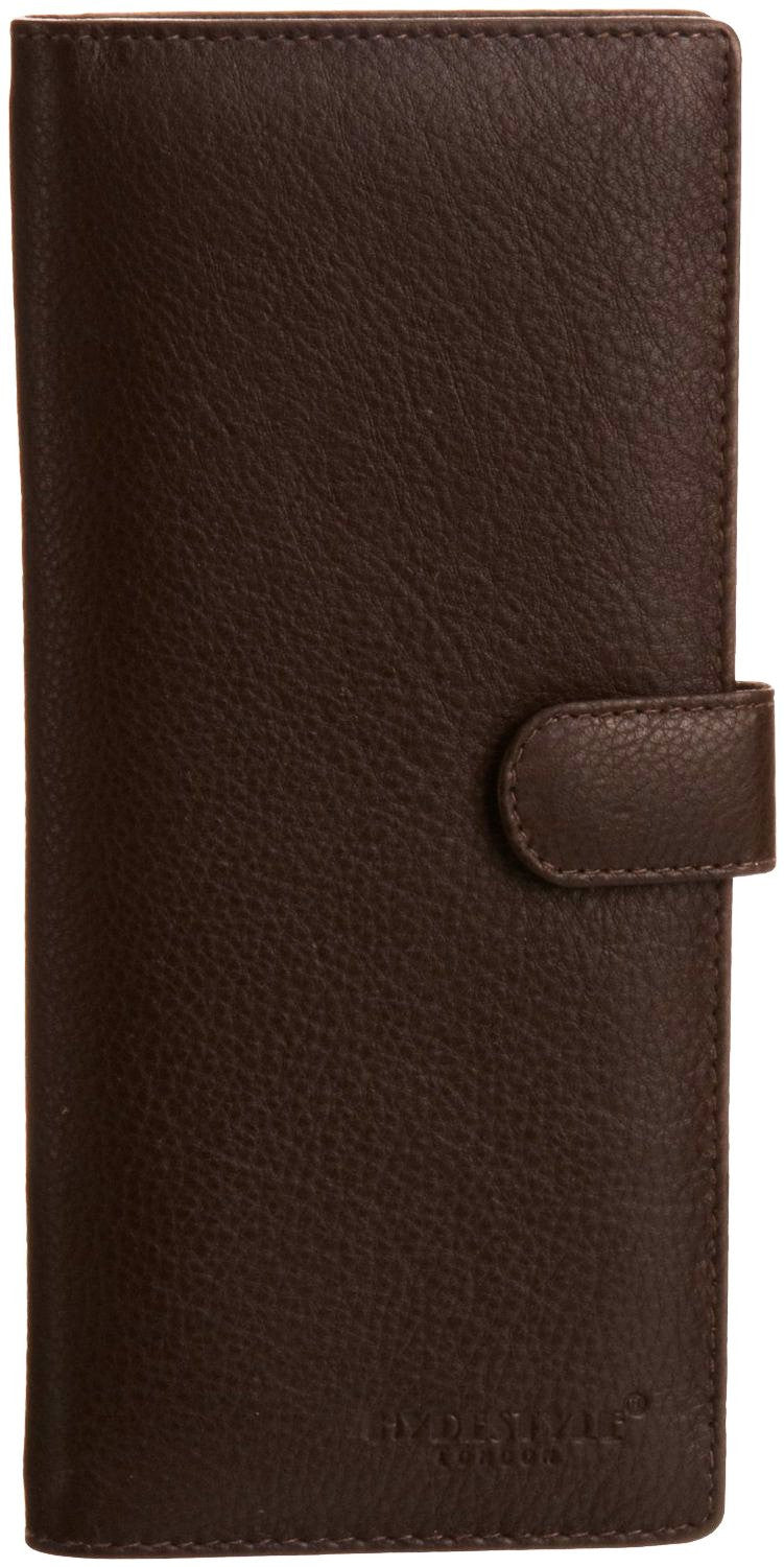 Pratico - women leather 12 card tab  wallet #LW04 Brown
