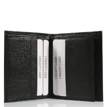 Pratico leather shirt pocket wallet #CC01