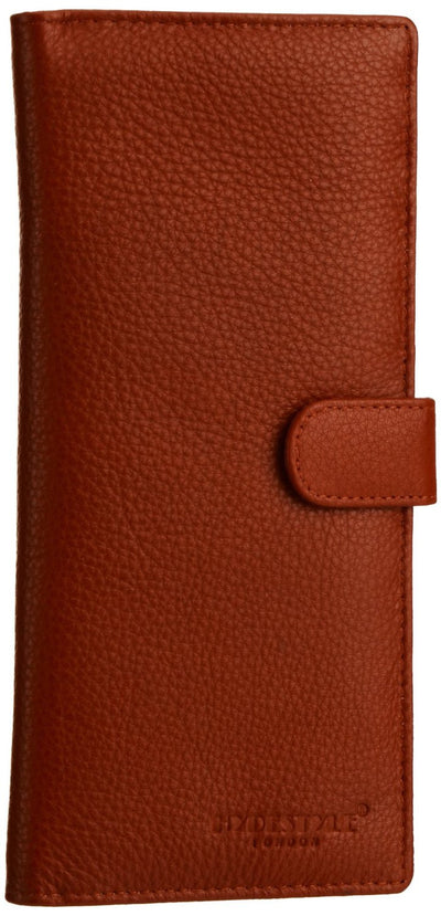 Pratico - women leather 12 card tab  wallet #LW04 Red