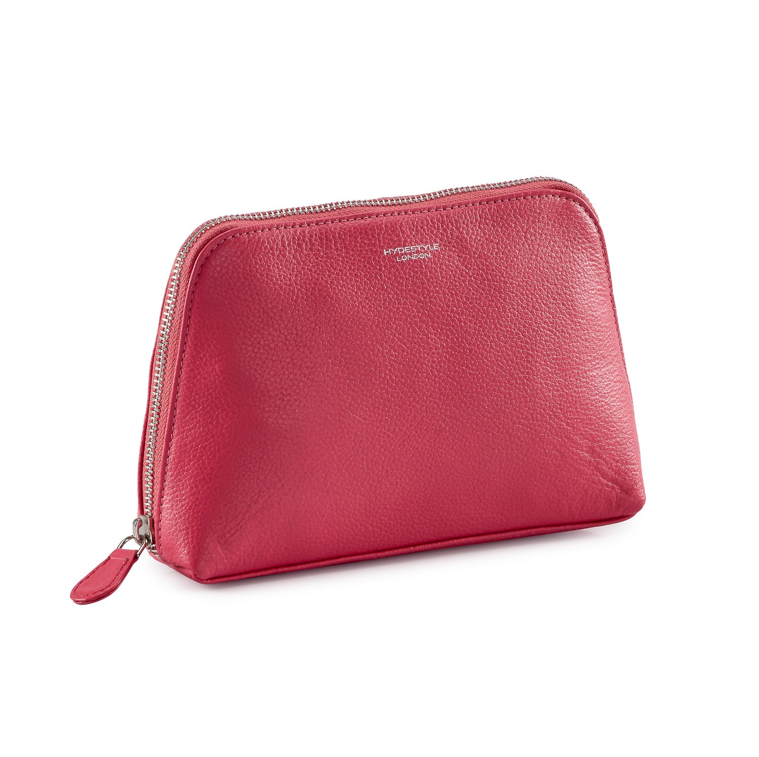 Pebbled Leather Rosa Makeup Pouch #MB2004