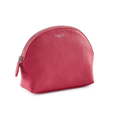 Pebbled Leather Rosa Makeup Pouch #MB2005